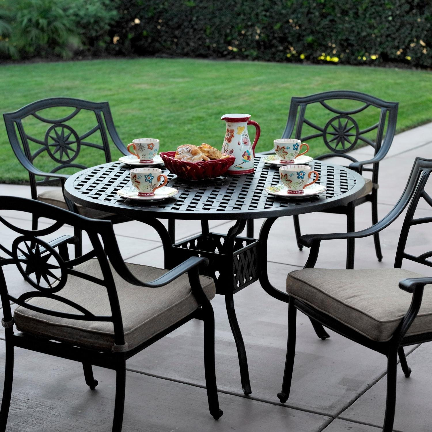Featured Image of Bushrah Counter Height Pedestal Dining Tables