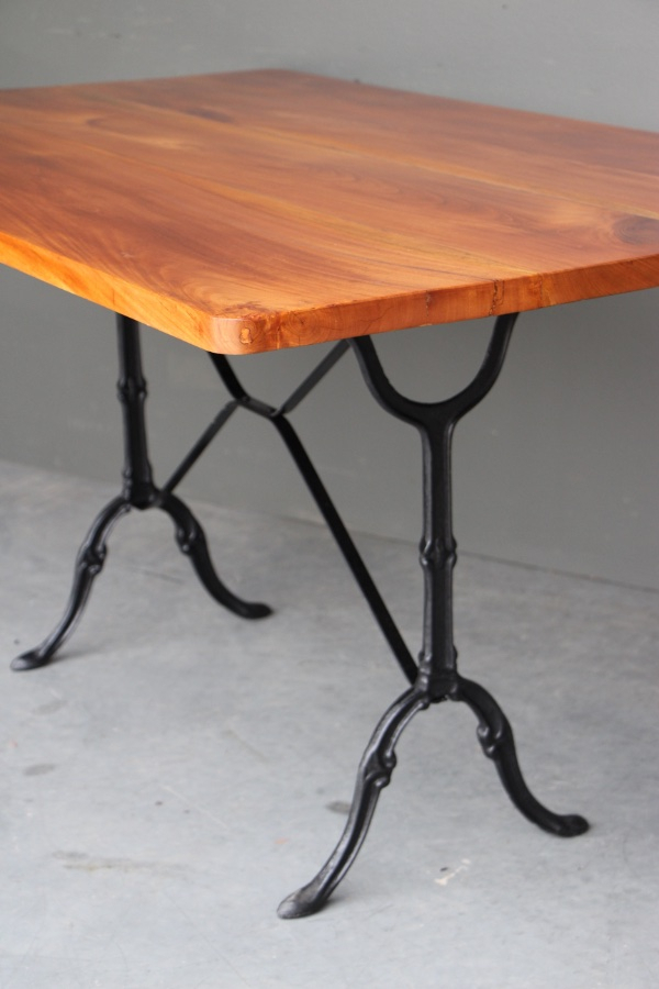 Buy French Provincial Iron Base Dining Table From Antiques For Most Recent Dellaney 35'' Iron Dining Tables (View 12 of 15)