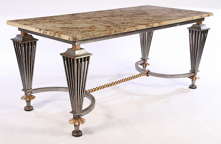 Buy Online, View Images And See Past Prices For Wrought Intended For Newest Deonte 38'' Iron Dining Tables (View 5 of 15)