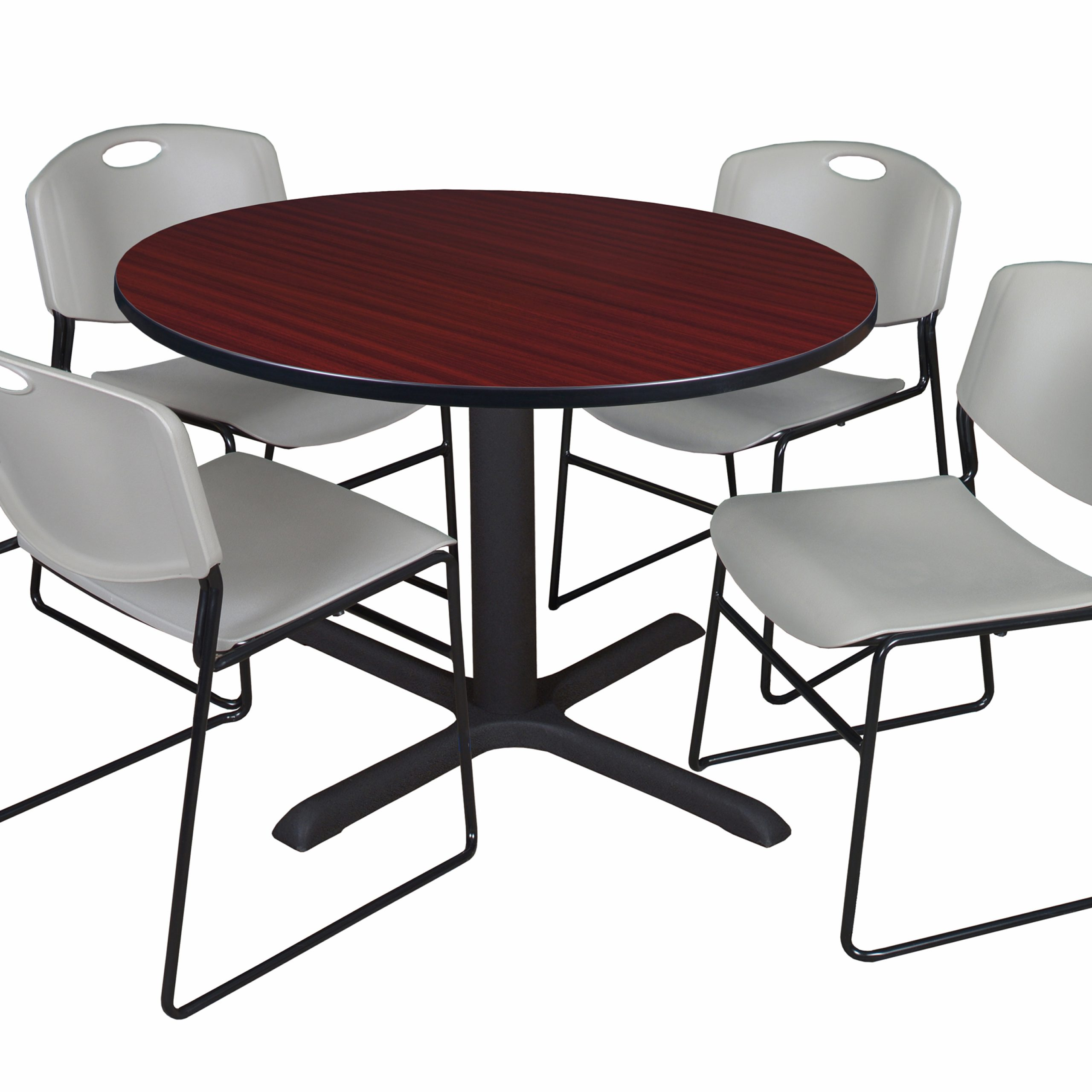 Featured Image of Round Breakroom Tables And Chair Set