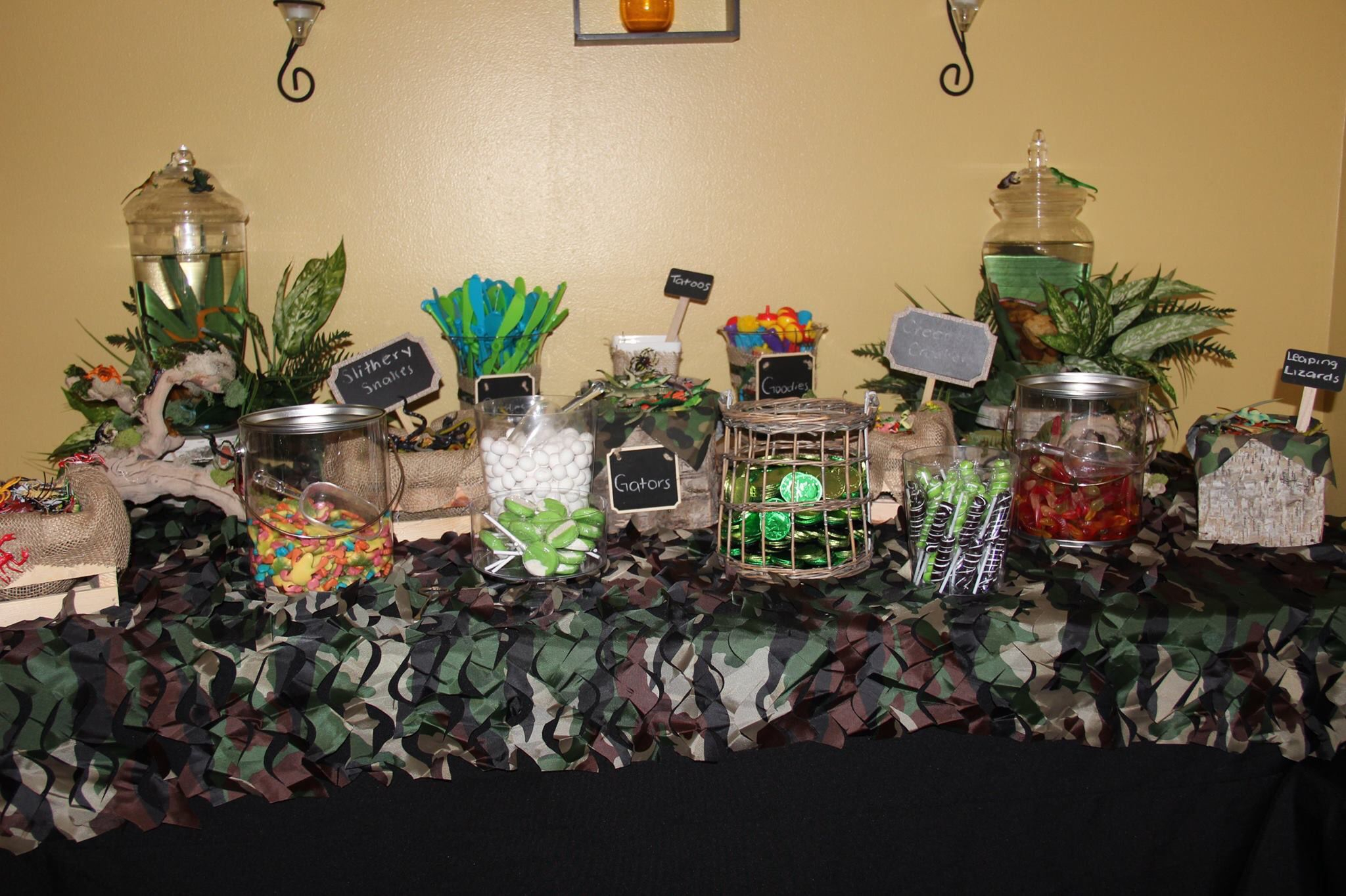 Candy N Goody Table | Swamp Party, Pool Party Inside 2017 Candie  (View 6 of 15)