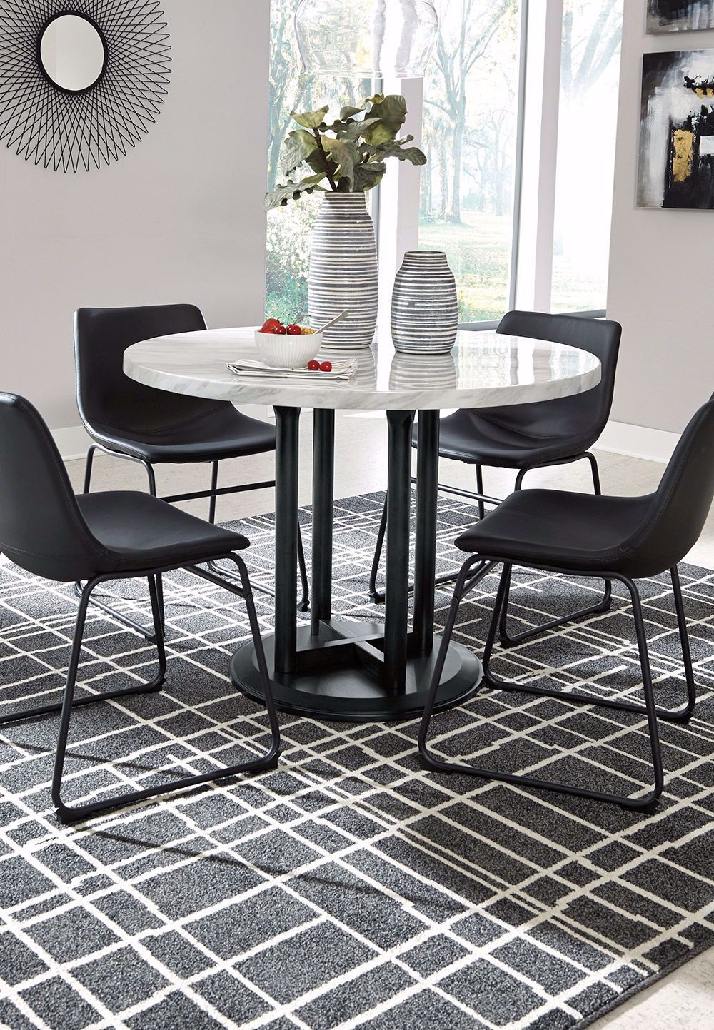 Featured Image of 47'' Pedestal Dining Tables