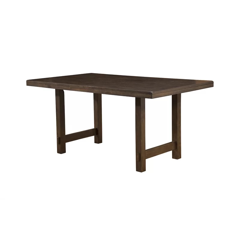 Channel Island Solid Wood Dining Table In 2020 | Wooden Within Most Recently Released Rhiannon Poplar Solid Wood Dining Tables (View 3 of 15)