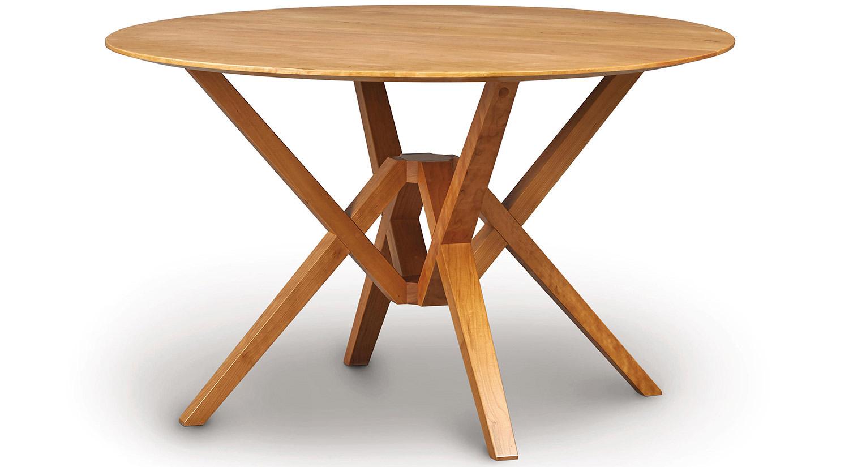 Circle Furniture – Exeter Dining Table | Circle Furniture In Newest Exeter 48'' Pedestal Dining Tables (Photo 2 of 15)