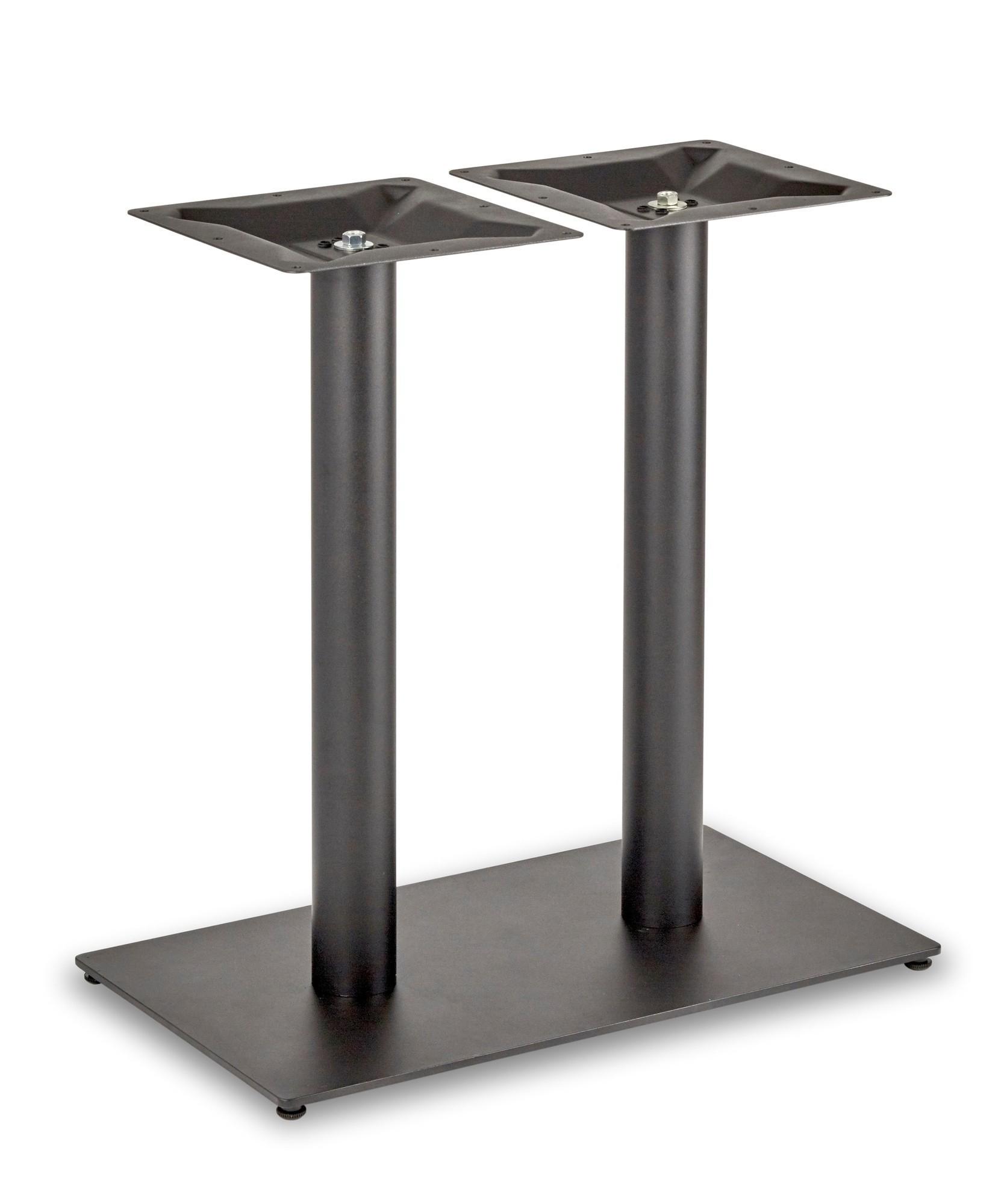 Circus Twin Pedestal Dining Table Rectangular Base Regarding Newest Serrato Pedestal Dining Tables (View 14 of 15)