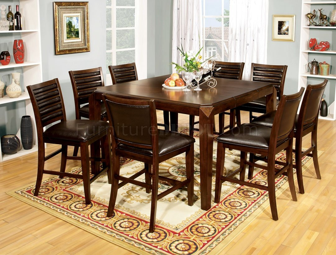 Featured Image of Dankrad Bar Height Dining Tables
