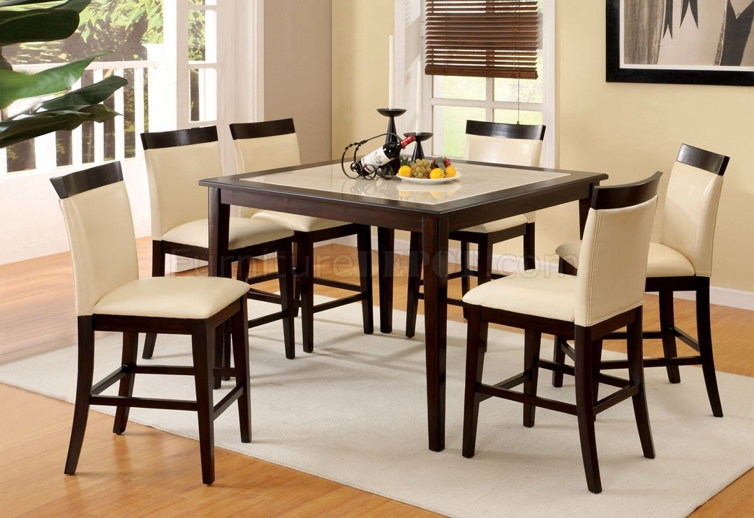 Cm3841Pt Evious Ii Counter Height Dining Table W/Options Inside Recent Andrenique Bar Height Dining Tables (View 5 of 15)