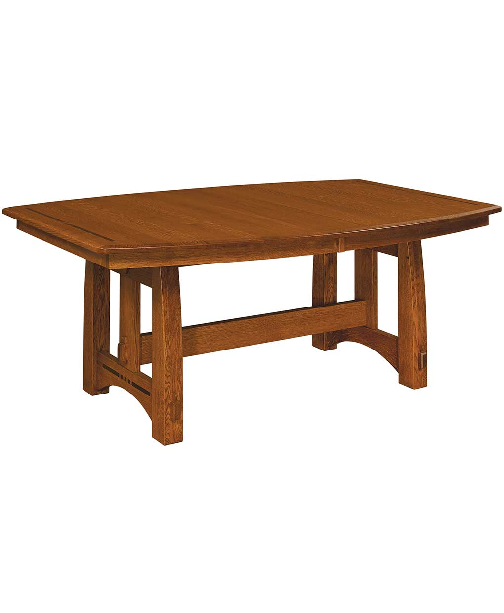 Colebrook Trestle Dining Table – Amish Direct Furniture With Regard To Latest Trestle Dining Tables (Photo 4 of 15)