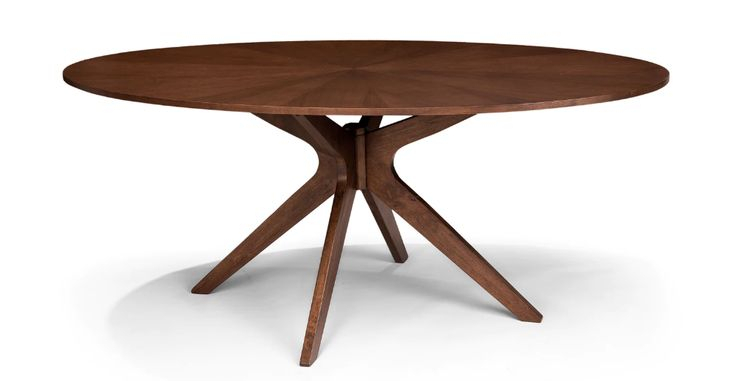 Conan Oval Dining Table In 2020 | Oval Table Dining, Oval Pertaining To Most Recent Akito  (View 5 of 15)