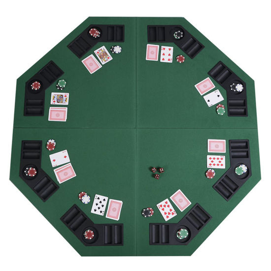 """Convenience Boutique / Poker Table Top With Carrying Case With Regard To 2018 48"""" 6 – Player Poker Tables (View 10 of 15)"""