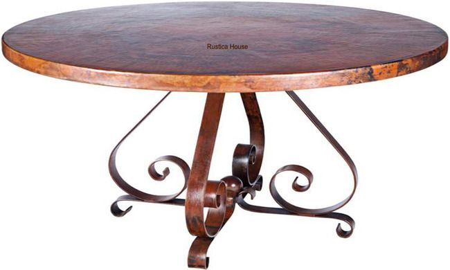"""Copper Table """"Alaska"""" 