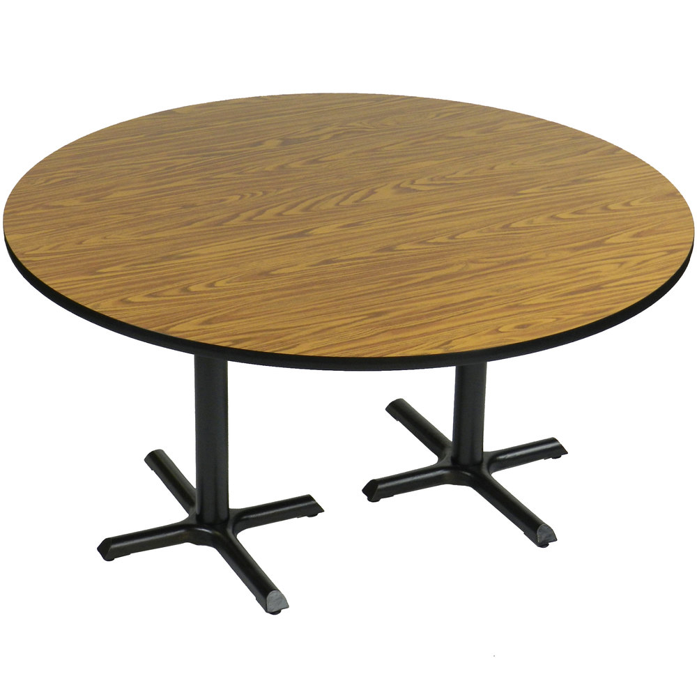"""Correll Bct60R 60"""" Round Table Height High Pressure Cafe Pertaining To 2017 Collis Round Glass Breakroom Tables (View 7 of 15)"""