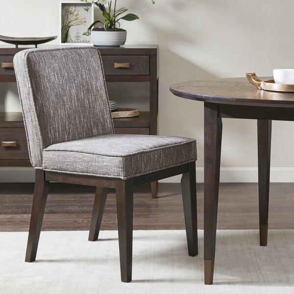 Corrigan Studio® Duren Upholstered Dining Chair & Reviews Inside Best And Newest Corrigan Studio Fawridge Dining Tables (Photo 3 of 15)