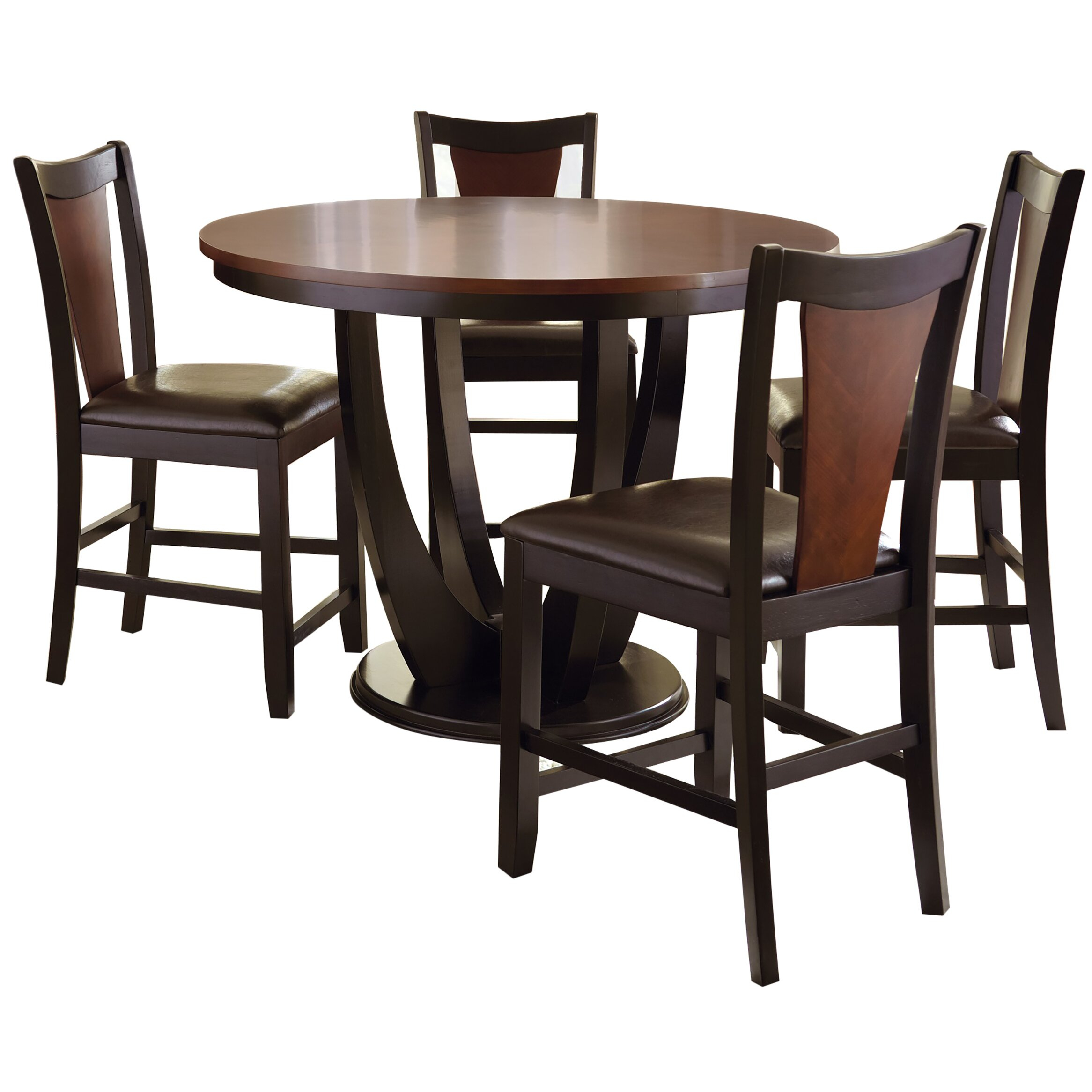Counter Height Dining Table Base | Wayfair In Most Current Counter Height Pedestal Dining Tables (View 15 of 15)