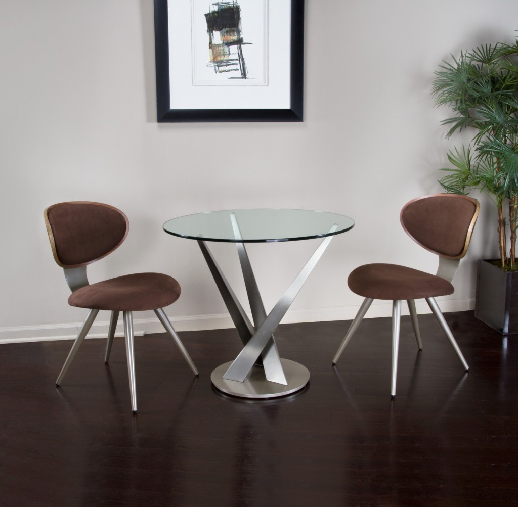 Crystal Dining Table – Contemporary Dining Furniture Pertaining To Recent Corrigan Studio Fawridge Dining Tables (View 8 of 15)