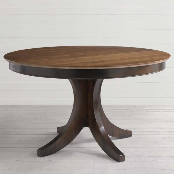 Custom Dining 54 Inch Round Pedestal Table | Costa Rican With Regard To Newest Sevinc Pedestal Dining Tables (View 7 of 15)