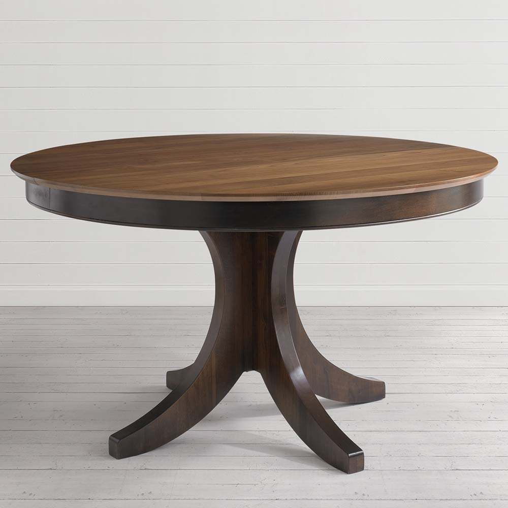 Custom Dining 54 Inch Round Pedestal Table | Costa Rican Within Most Up To Date Kirt Pedestal Dining Tables (View 3 of 15)