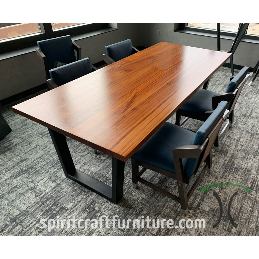 Custom Made Solid Wood Table Builder For 2017 Midtown Solid Wood Breakroom Tables (View 14 of 15)