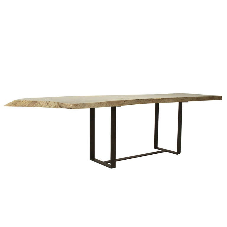 Custom Thomas Hayes Studio Colyer Dining Table In Solid In Most Recently Released Corrigan Studio Fawridge Dining Tables (View 15 of 15)