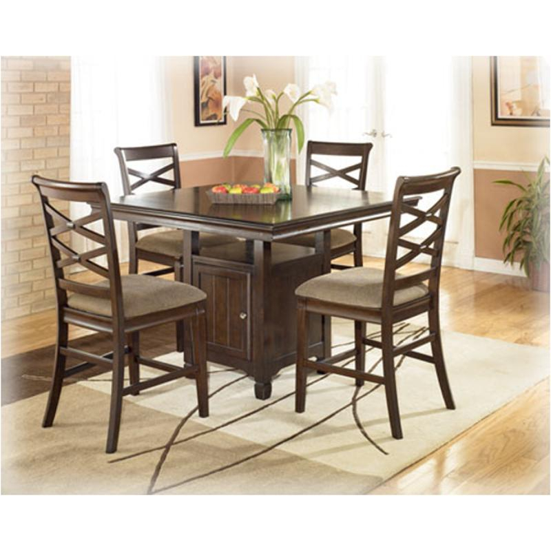 D480 32 Ashley Furniture Square Dining Room Counter Table Inside Most Up To Date Mcmichael 32'' Dining Tables (View 7 of 15)