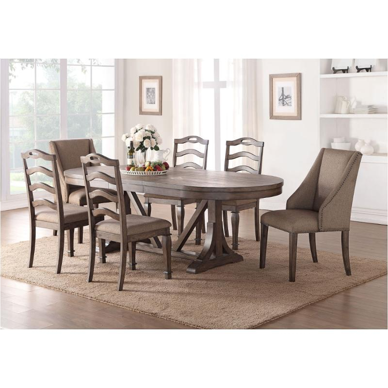 D612 10T New Classic Furniture Ava Dining Room Dining Table Intended For 2018 Classic Dining Tables (View 13 of 15)