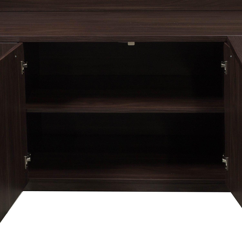 "Denmark Executive L Shape Left Return Desk Set, American Pertaining To Recent Dionara 56"" L Breakroom Tables (View 9 of 15)"