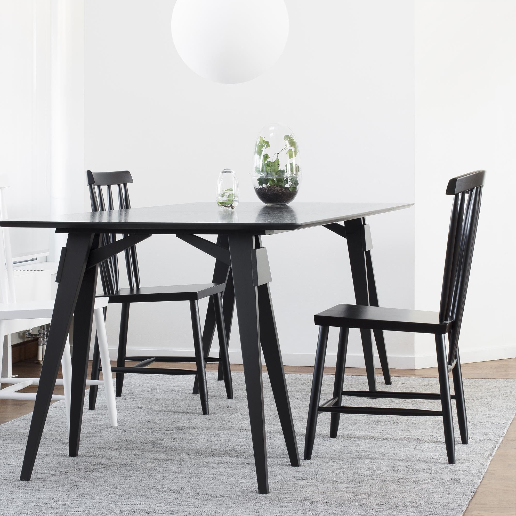 Design House Stockholm Arco Dining Table 180X90X74Cm Intended For Current Yaqub 39'' Dining Tables (View 10 of 15)