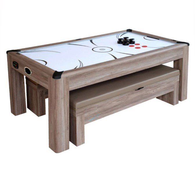 Die Aksu: Air Hockey Pool Table Combo With Recent Drift  (View 14 of 15)