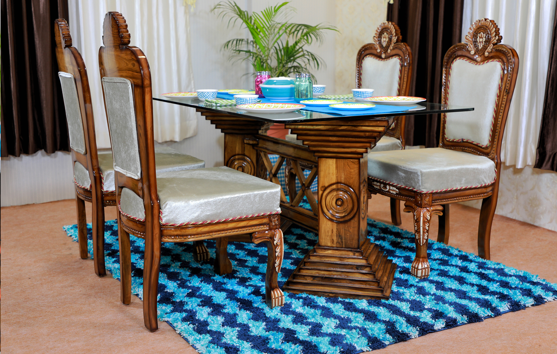 Dinign Table    Saaj In Current Naz  (View 4 of 15)
