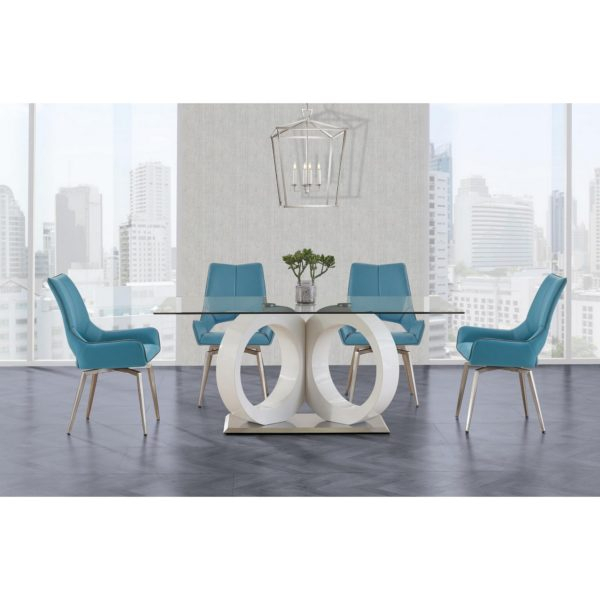"""Dining Tables – Page 2 – Global Furniture Usa® With Regard To 2018 Murphey Rectangle 112"""" L X 40"""" W Tables (View 12 of 15)"""