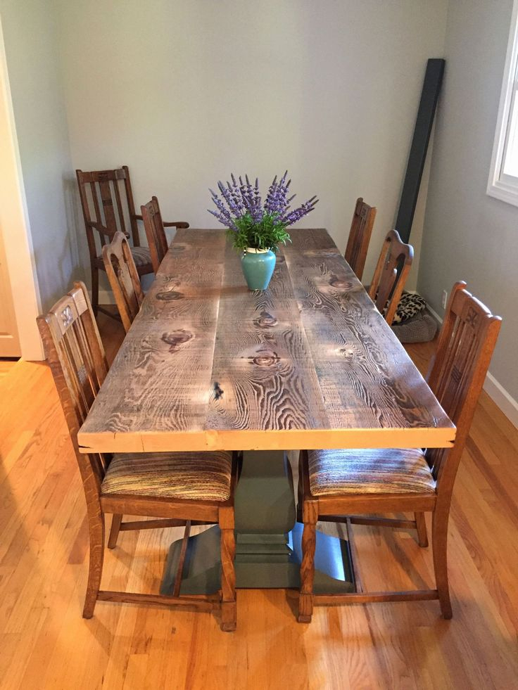 Distressed Wood Dining Room Sets Beautiful Gorgeous Dining With Most Popular Cainsville 32'' Dining Tables (View 14 of 15)