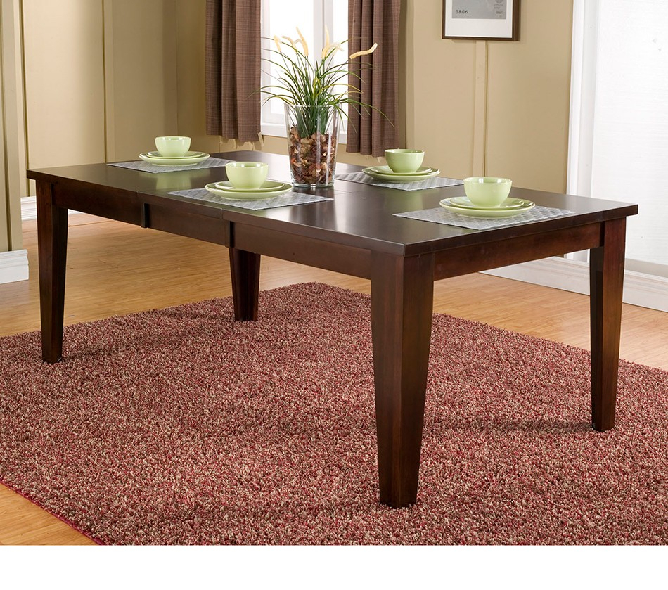 Dreamfurniture – Havenhurst Extension Dining Table Inside Most Popular Warnock Butterfly Leaf Trestle Dining Tables (View 6 of 15)