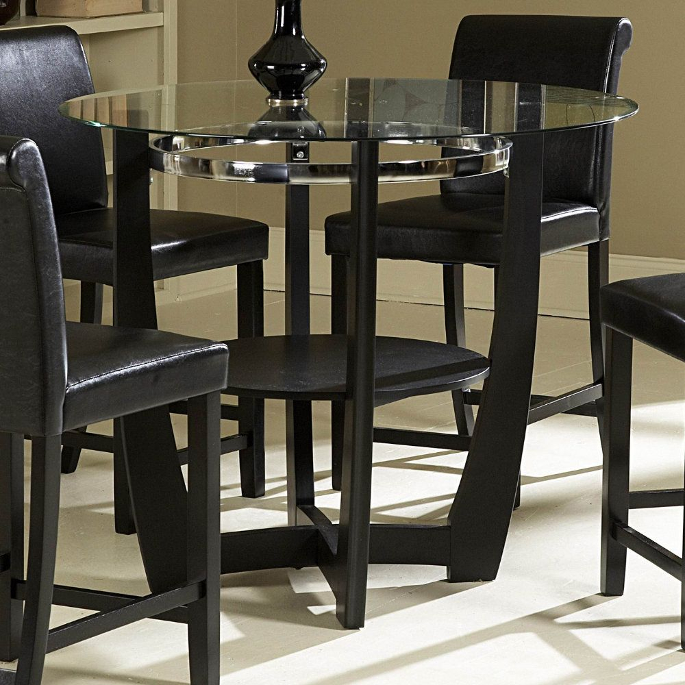 Drop Dead Gorgeous Homelegance Counter Height Table Inside 2017 Andreniki Bar Height Pedestal Dining Tables (View 15 of 15)