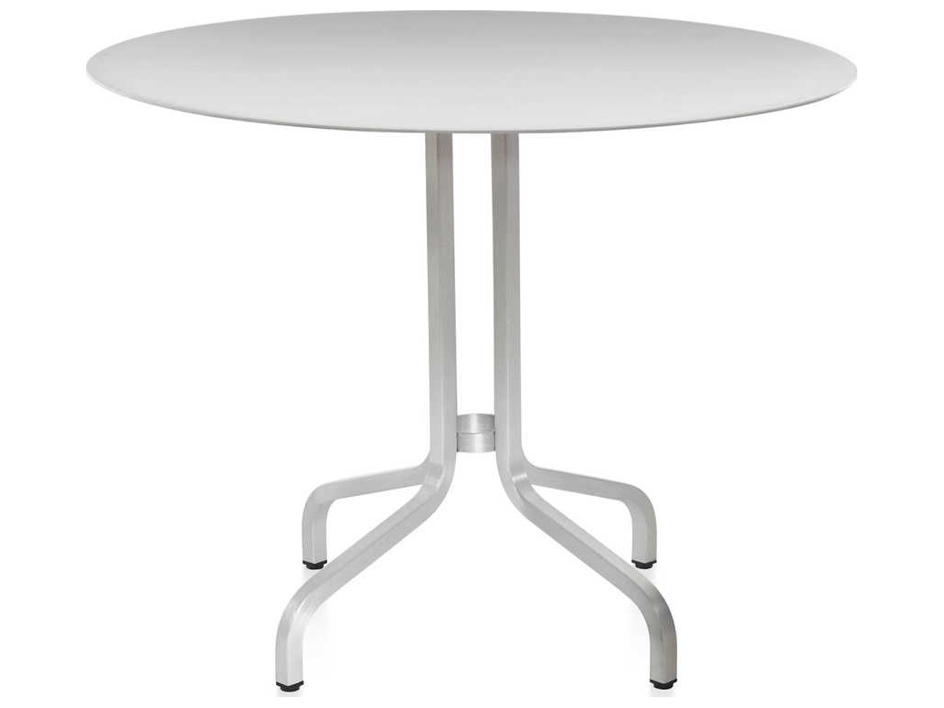 Emeco 1 Inchjasper Morrison 36'' Wide Round Dining Inside Latest Pevensey 36'' Dining Tables (View 2 of 15)