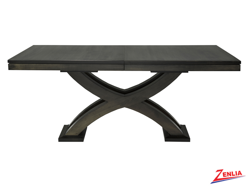 Empi Dining Table   Double Pedestal Dining Tables   Solid For 2018 Canalou 46'' Pedestal Dining Tables (View 14 of 15)