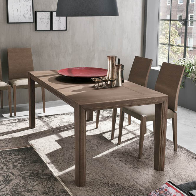 Enea Dining Table, Tomasella Italy – Italmoda Furniture Store Intended For Most Current Akitomo (View 8 of 15)