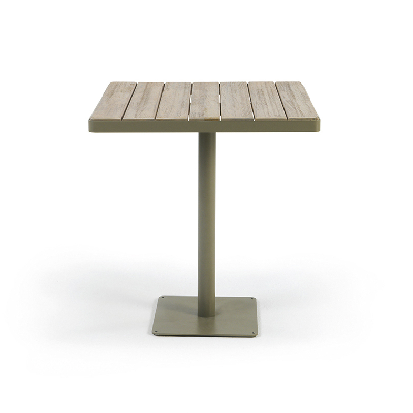 Ethimo, Laren Square Dining Table 70X70Cm | Walters Wicker Intended For Best And Newest Conerly  (View 13 of 15)