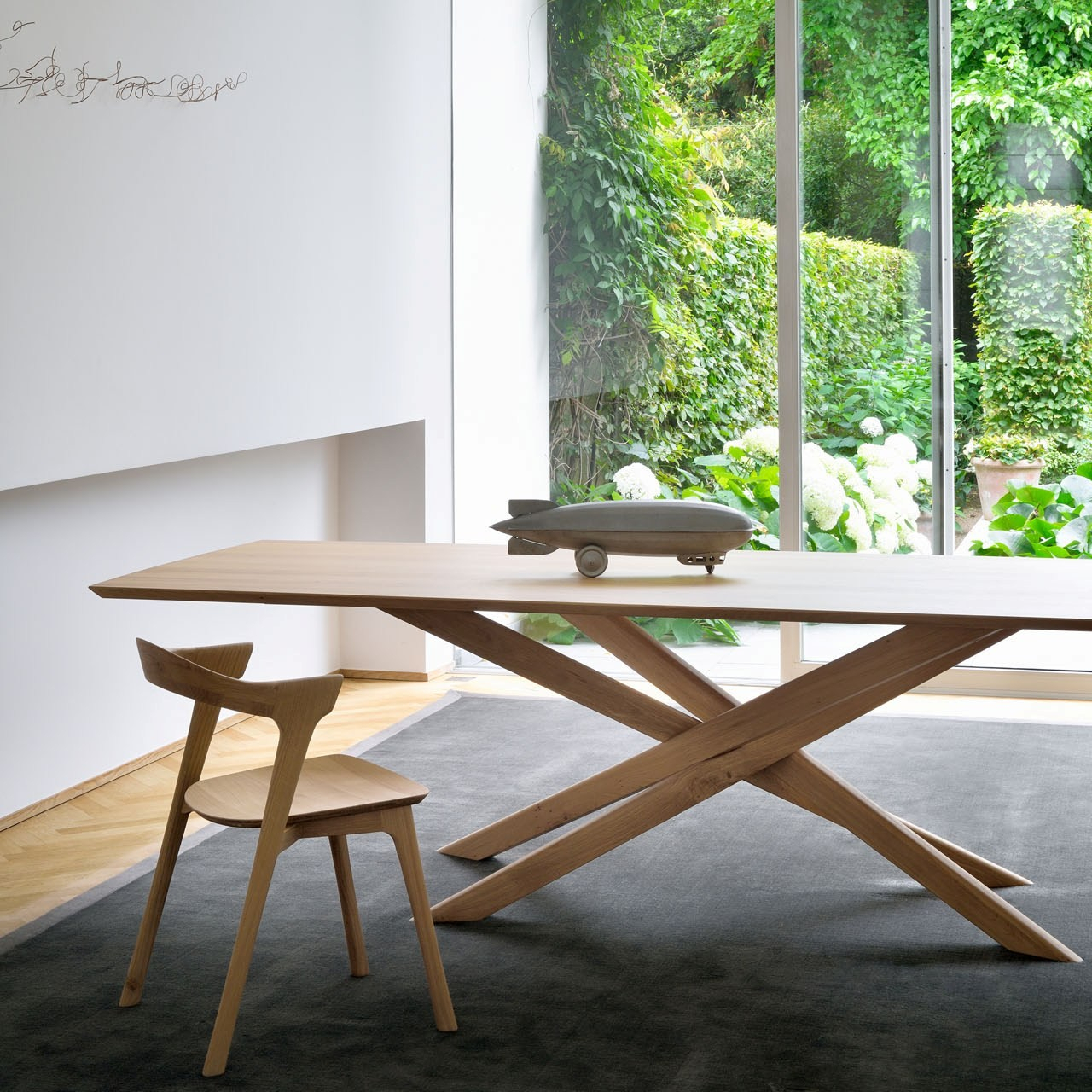 Ethnicraft Oak Mikado Dining Table In Most Popular Eleni 35'' Dining Tables (View 7 of 15)