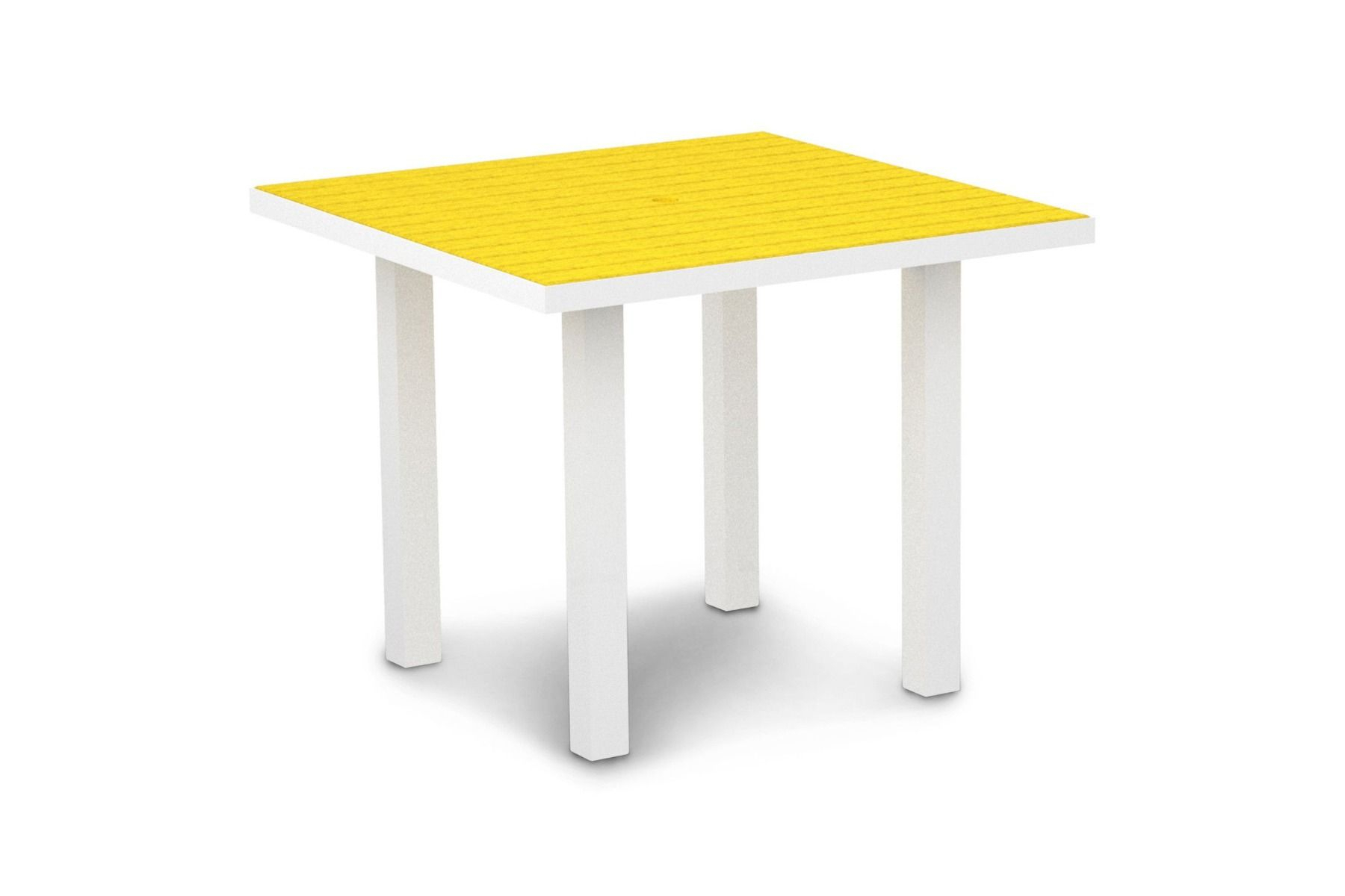 """Euro 36"""" Square Dining Table At36 Intended For 2018 Hitchin 36'' Dining Tables (View 2 of 15)"""