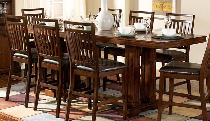 Everett 5381 36C Counter Height Dining Tablehomelegance Inside Best And Newest Hearne Counter Height Dining Tables (View 11 of 15)