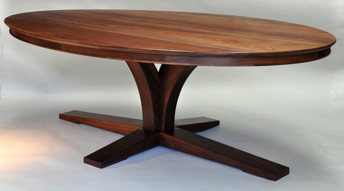 Expanding Cherry Dining Table | Dorset Custom Furniture For Recent 47'' Pedestal Dining Tables (View 2 of 15)