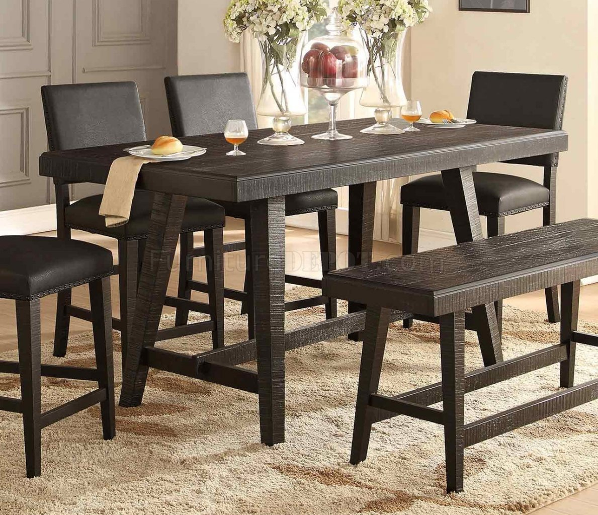 Fenwick Counter Height Dining Table 5480 36Homelegance In Most Popular Menifee 36'' Dining Tables (View 5 of 15)