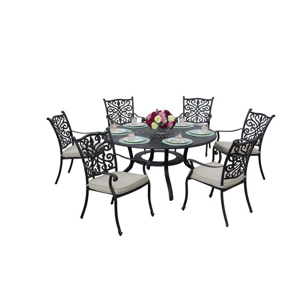 Fleur De Lis Living Belton 7 Piece Dining Set With For Most Recent Belton Dining Tables (View 2 of 15)