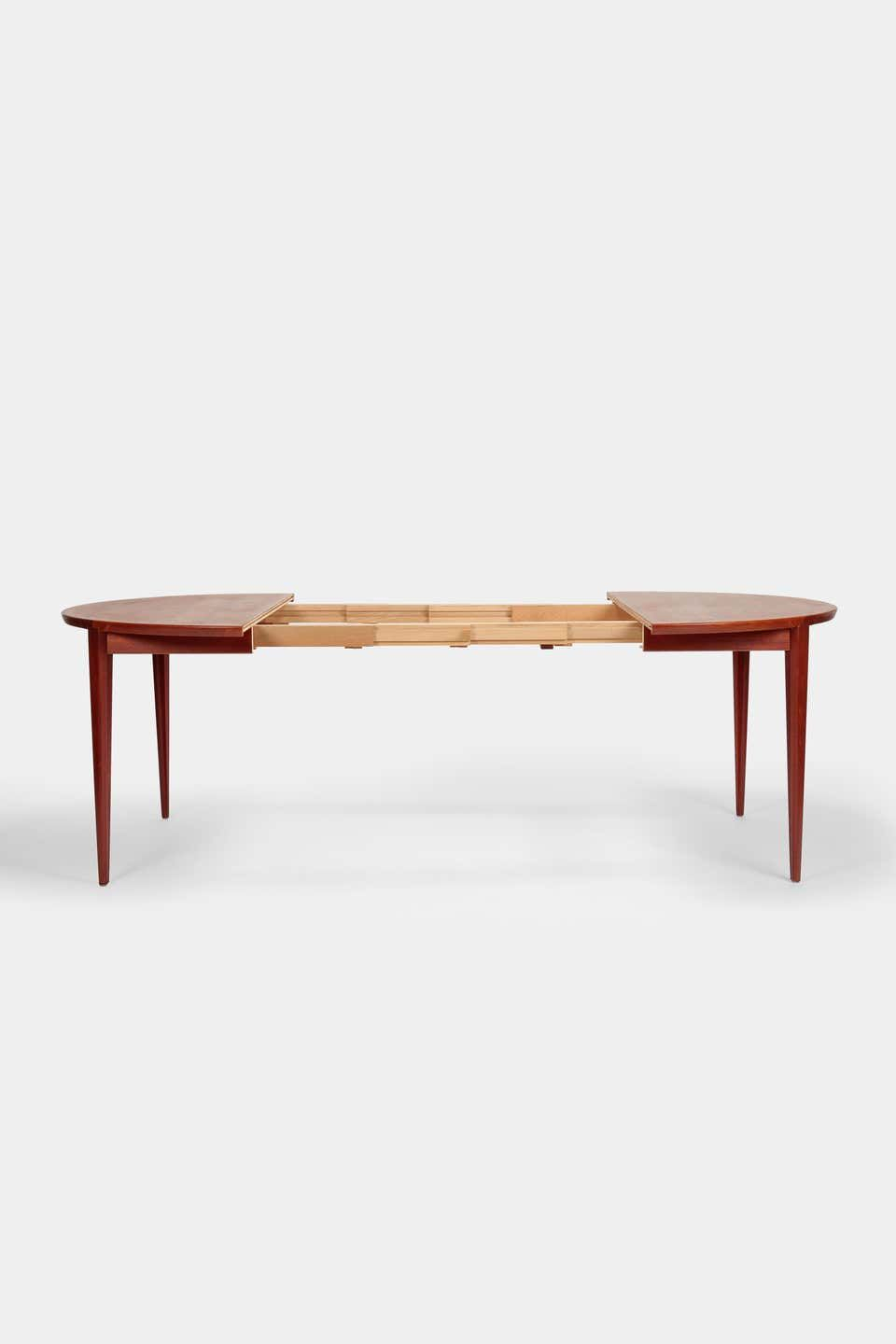 For Sale On 1Stdibs – Rosengren Hansen Dining Table And 6 With Current (View 4 of 15)