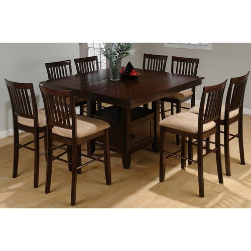 Found It At Wayfair – Midtown Counter Height Dining Table Throughout 2017 Midtown Solid Wood Breakroom Tables (View 12 of 15)