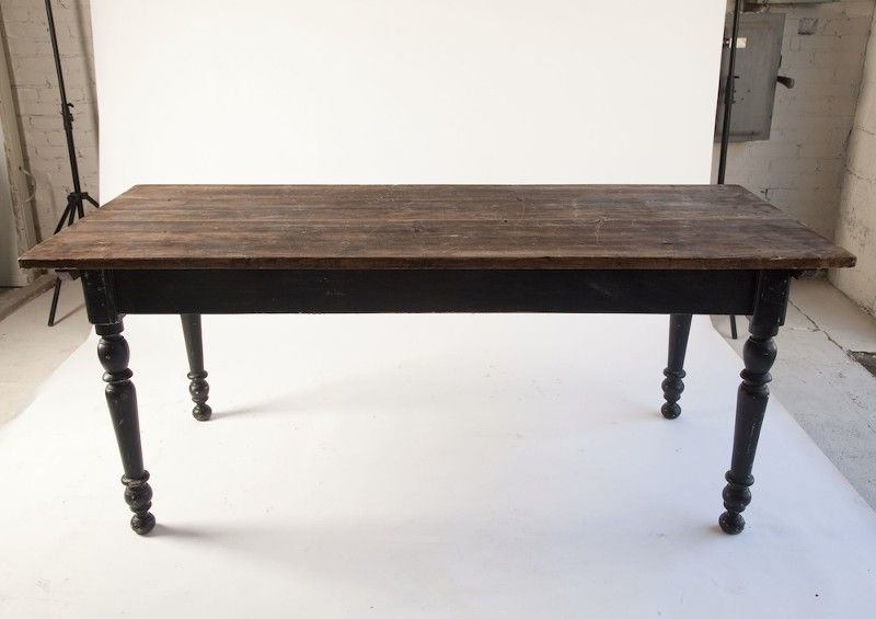 Found Vintage Rentals: Justine Farm Table | Dining Table Inside 2018 Justine (View 10 of 15)