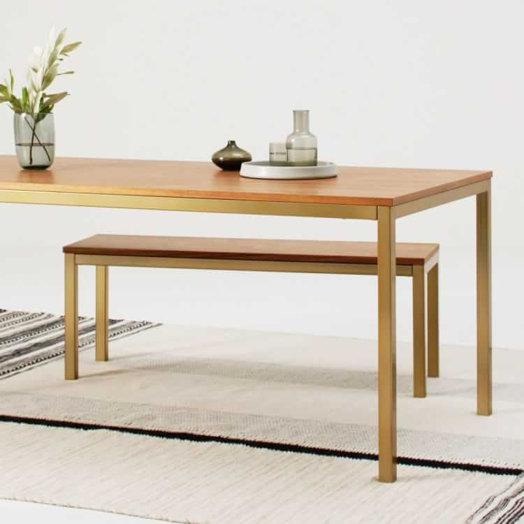 Frame Expandable Dining Table – Walnut In 2020 Pertaining To Best And Newest Dellaney 35'' Iron Dining Tables (View 7 of 15)