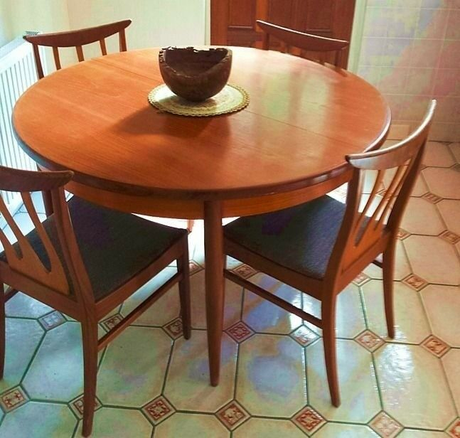 Free Dining Table And 4 Chairs Must Collect 23/6/18 Now In Current Crilly  (View 5 of 15)