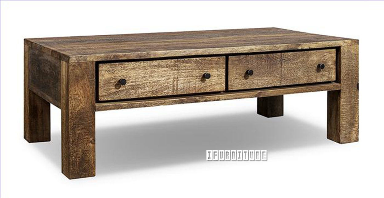 Freetown Solid Mango Wood Coffee Table Intended For 2017 Mccrimmon 36'' Mango Solid Wood Dining Tables (View 13 of 15)