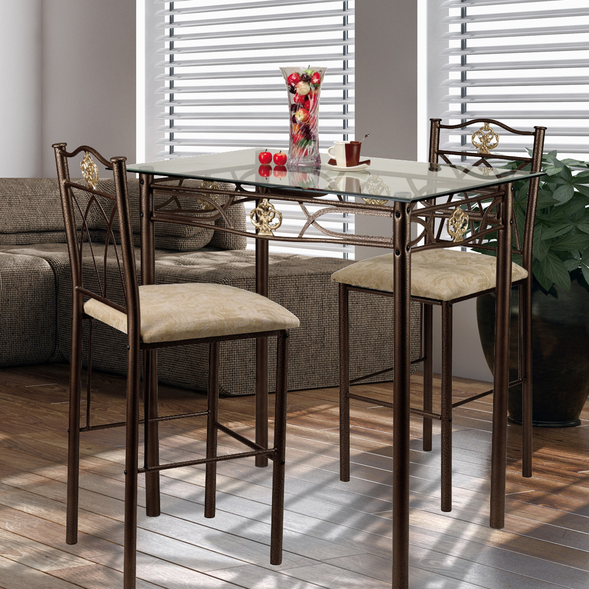 From Classic And Simple To Modern Style Of Small Pub Table Inside 2018 Dawid Counter Height Pedestal Dining Tables (View 6 of 15)